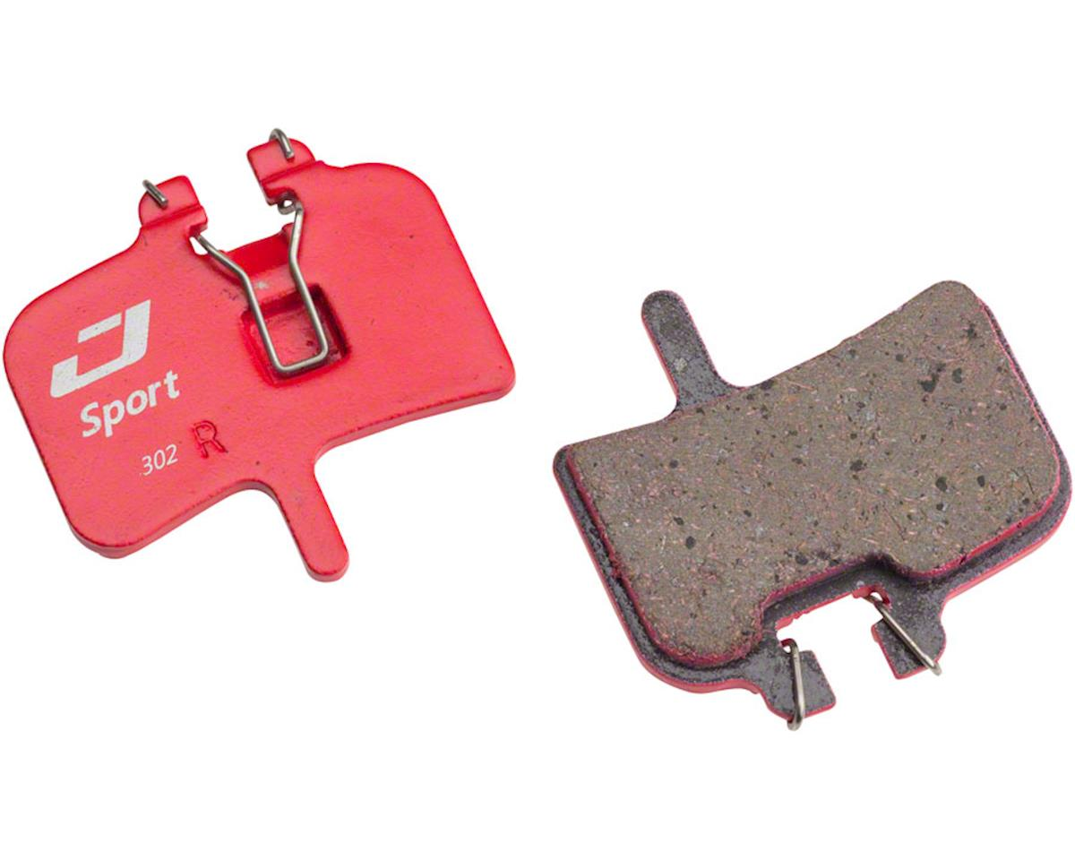 Jagwire Mountain Sport Semi-Metallic Disc Brake Pads for Hayes HRX-Mag Series, H