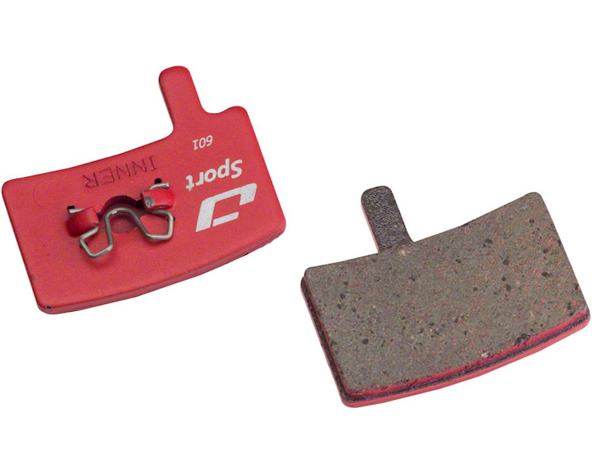 Jagwire Mountain Sport Semi-Metallic Disc Brake Pads for Hayes Stroker Trail, St