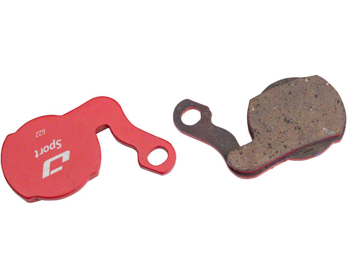 Jagwire Mountain Sport Semi-Metallic Disc Brake Pads for Magura, Louise 2007, Ju
