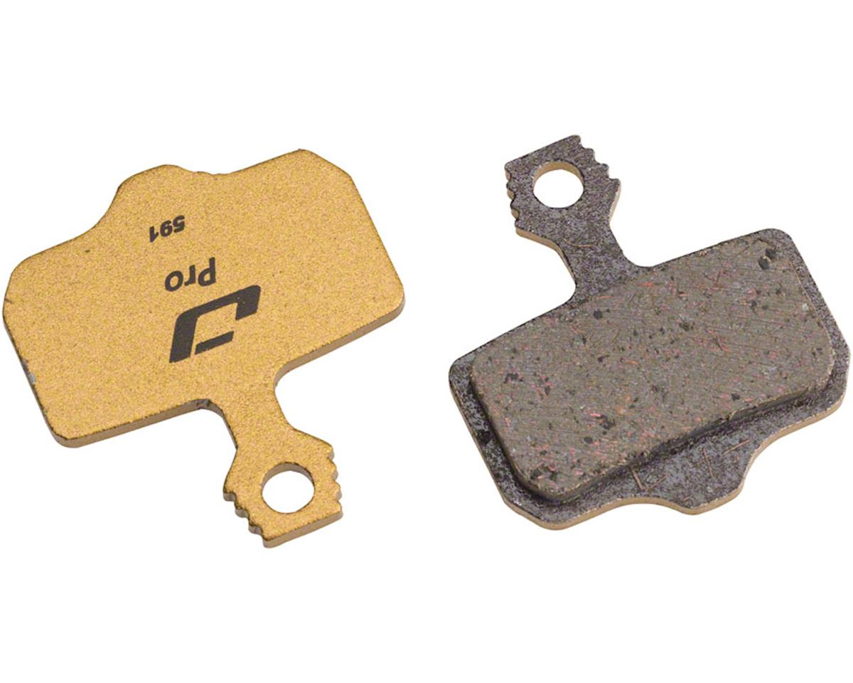 Jagwire Mountain Pro Alloy Backed Semi-Metallic Disc Pads for Avid Elixir R, CR