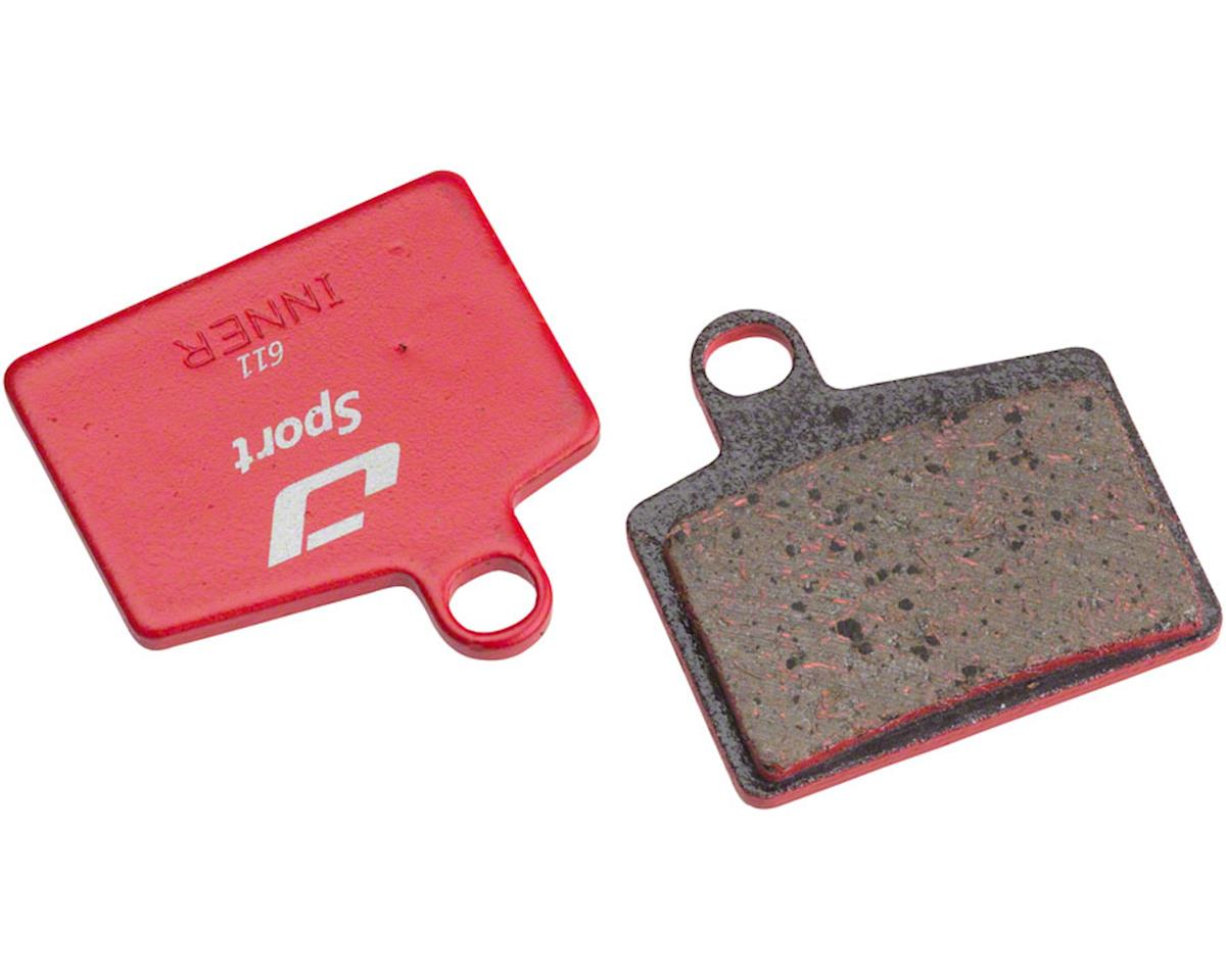 Jagwire Mountain Sport Semi-Metallic Disc Brake Pads for Hayes Stroker Ryde