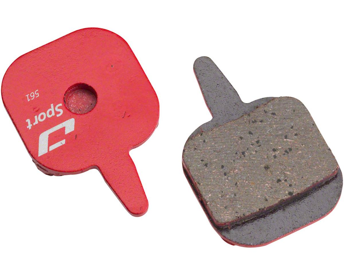 Jagwire Mountain Sport Semi-Metallic Disc Brake Pads for Tektro Io
