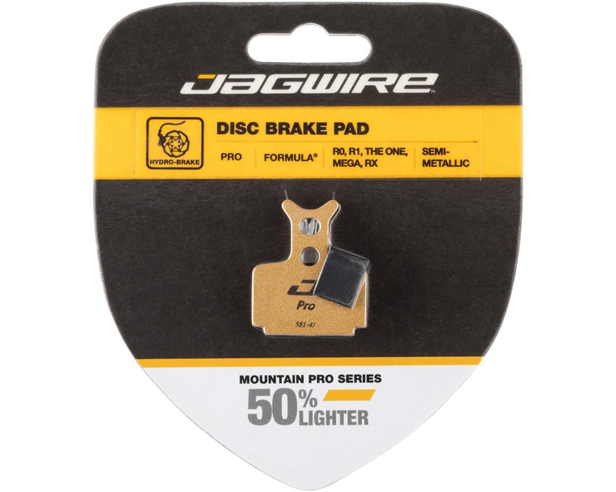 Mountain Pro Alloy Backed Semi-Metallic Disc Brake Pads for Formula T1,