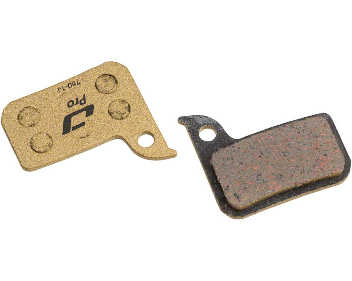 Jagwire Pro Alloy Backed Semi-Metallic Disc Brake Pads for SRAM Red 22 B1, Force