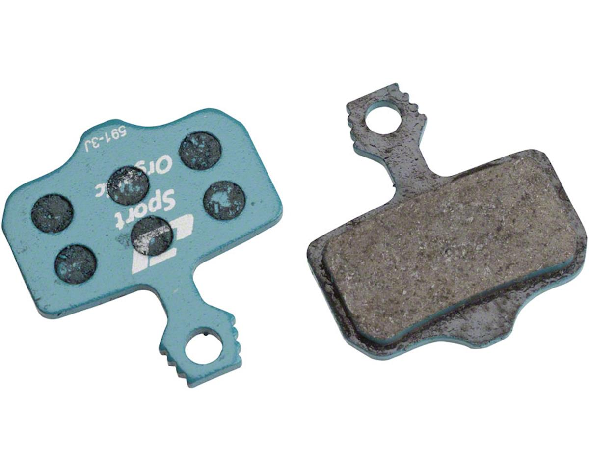 Jagwire Sport Organic Disc Brake Pads for SRAM Level TL, T, DB5, DB3, DB1, Avid,