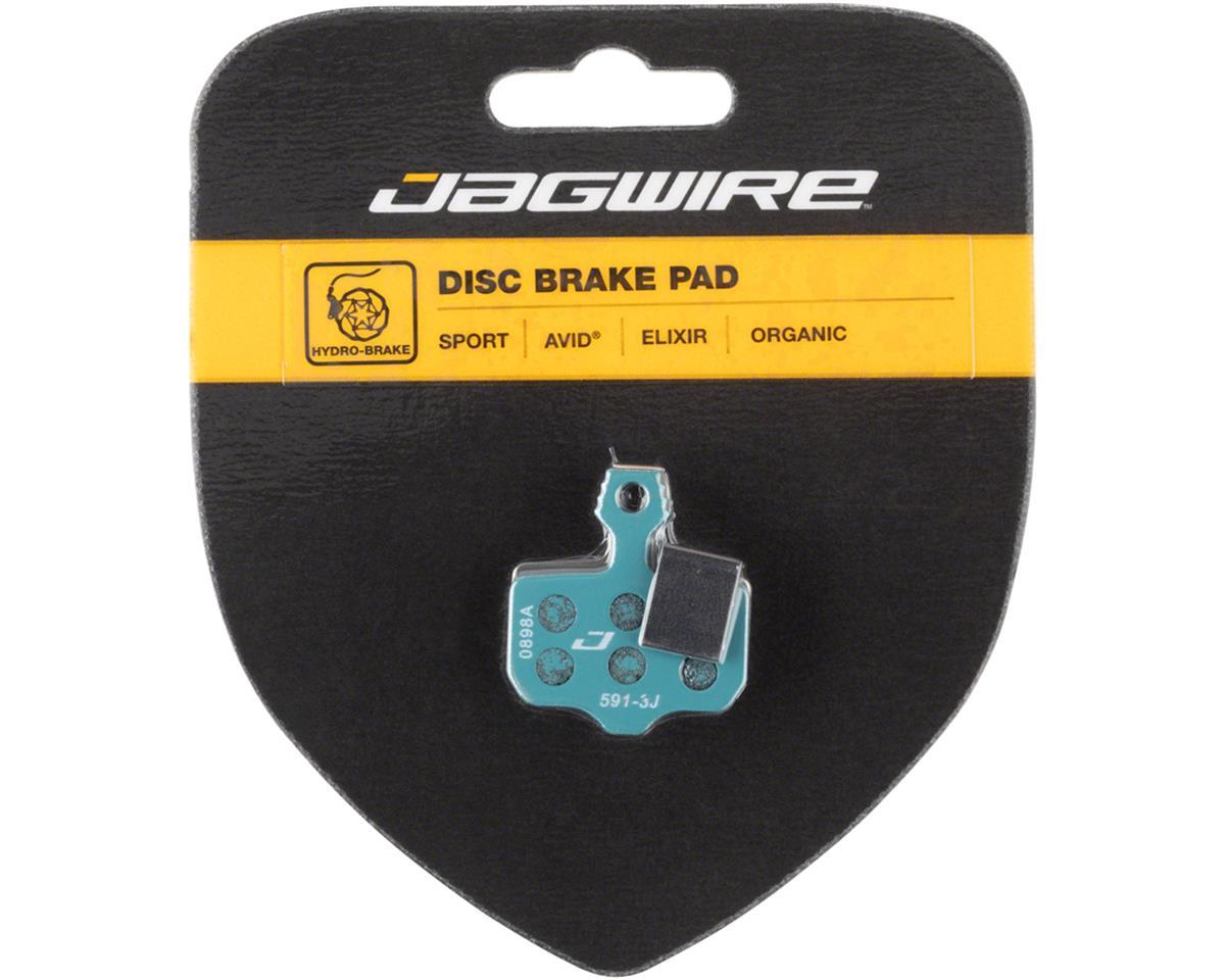 Jagwire Sport Organic Disc Brake Pads for SRAM Level TL, T, DB5, DB3, DB1, Avid,