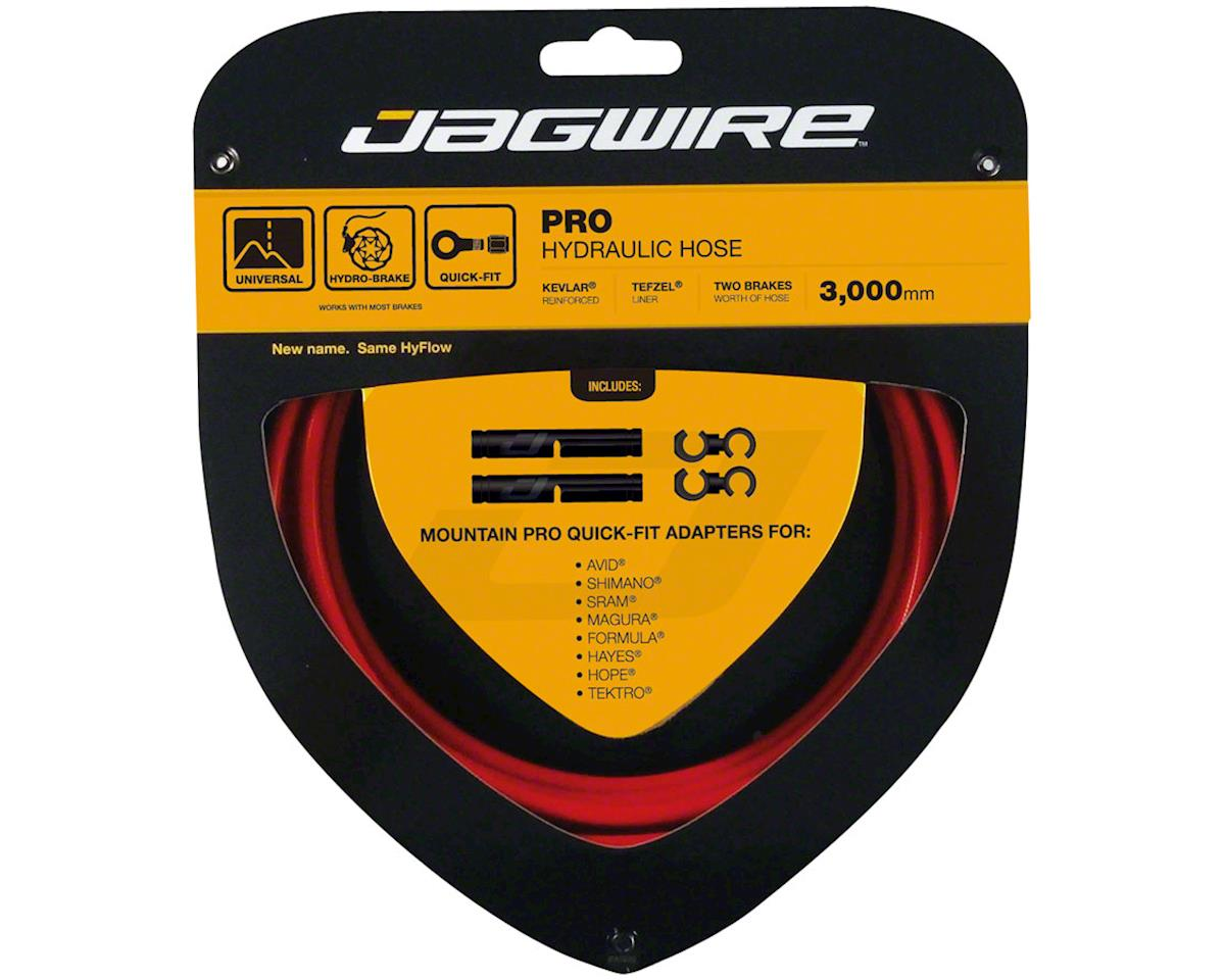 Jagwire Mountain Pro Disc Brake Hydraulic Hose 3000mm, Red