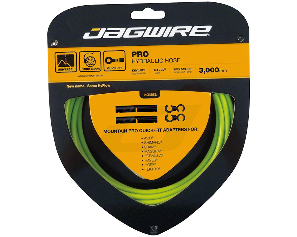 Jagwire Mountain Pro Disc Brake Hydraulic Hose 3000mm, Organic Green