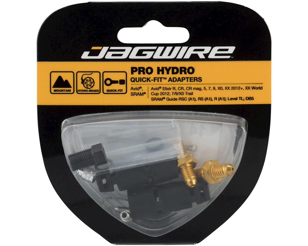 Image 2 for Jagwire Pro Disc Brake Hydraulic Hose Quick-Fit Adapters for SRAM/Avid