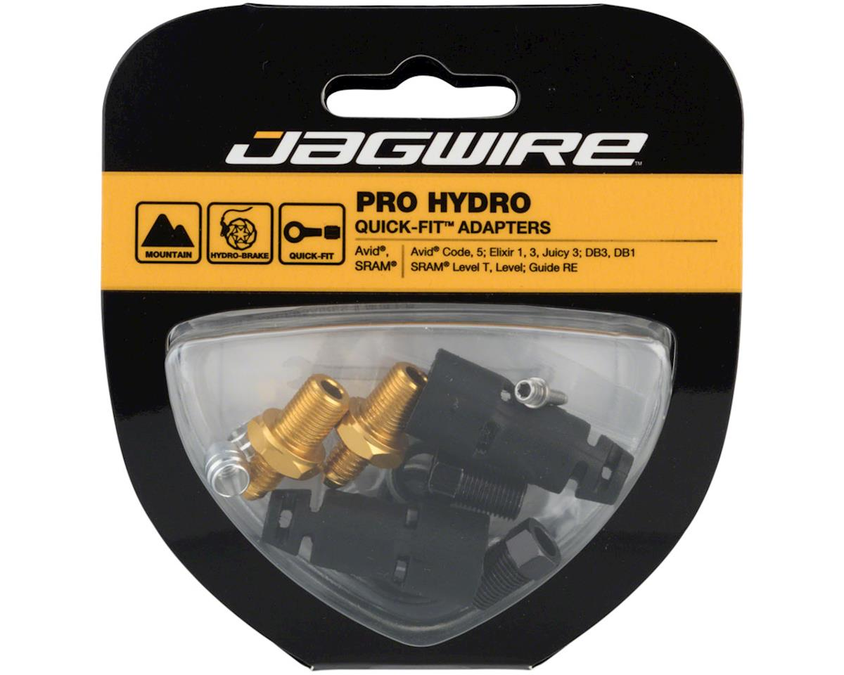 Jagwire Pro Disc Brake Hydraulic Hose Quick-Fit Adapters for SRAM/Avid
