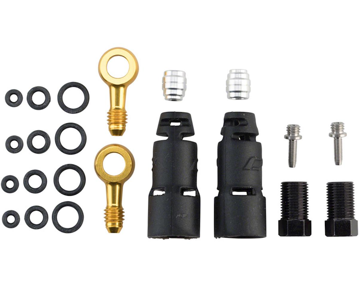 Jagwire Pro Disc Brake Hydraulic Hose Quick-Fit Adapters for SRAM Level Ultimate