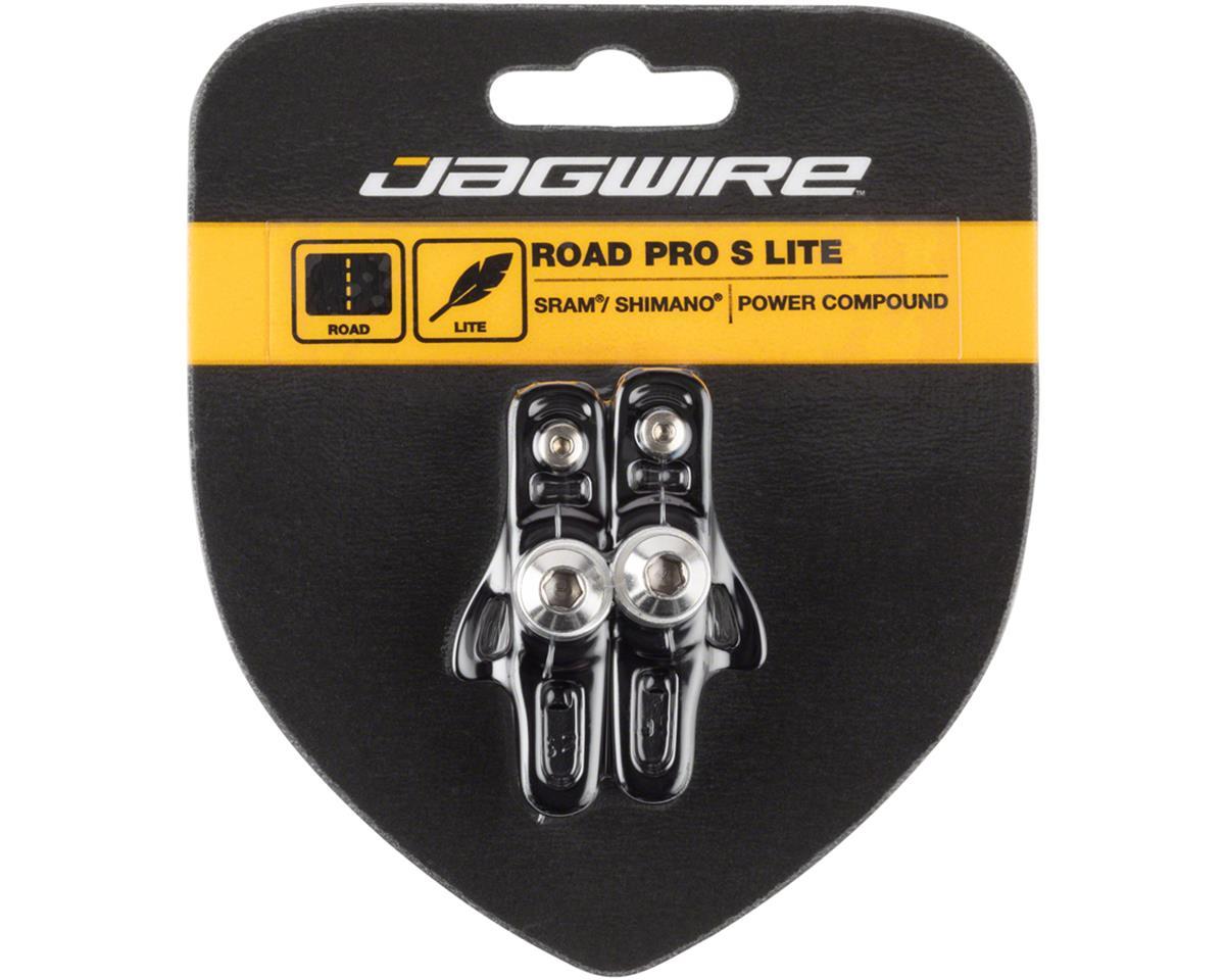 Jagwire Road Pro S Brake Pads SRAM/Shimano, Black