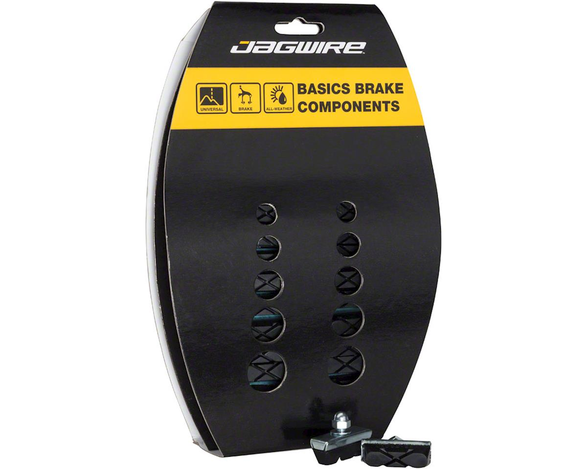 Jagwire Basics X-Caliper Brake Pads Threaded Black Card of 20 Pairs