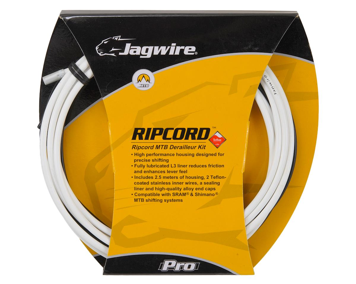 Jagwire Mountain Pro Derailleur Kit White