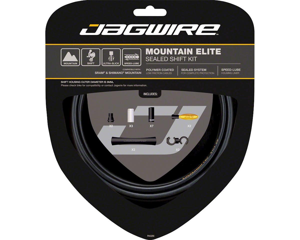 Jagwire Mountain Elite Sealed Shift Cable Kit, Frozen Black