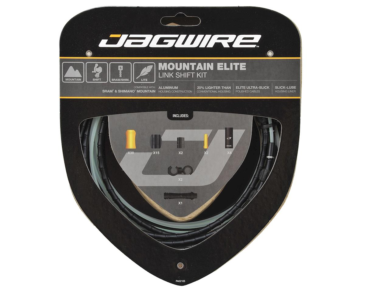 Jagwire Mountain Elite Link Shift Kit (Black)