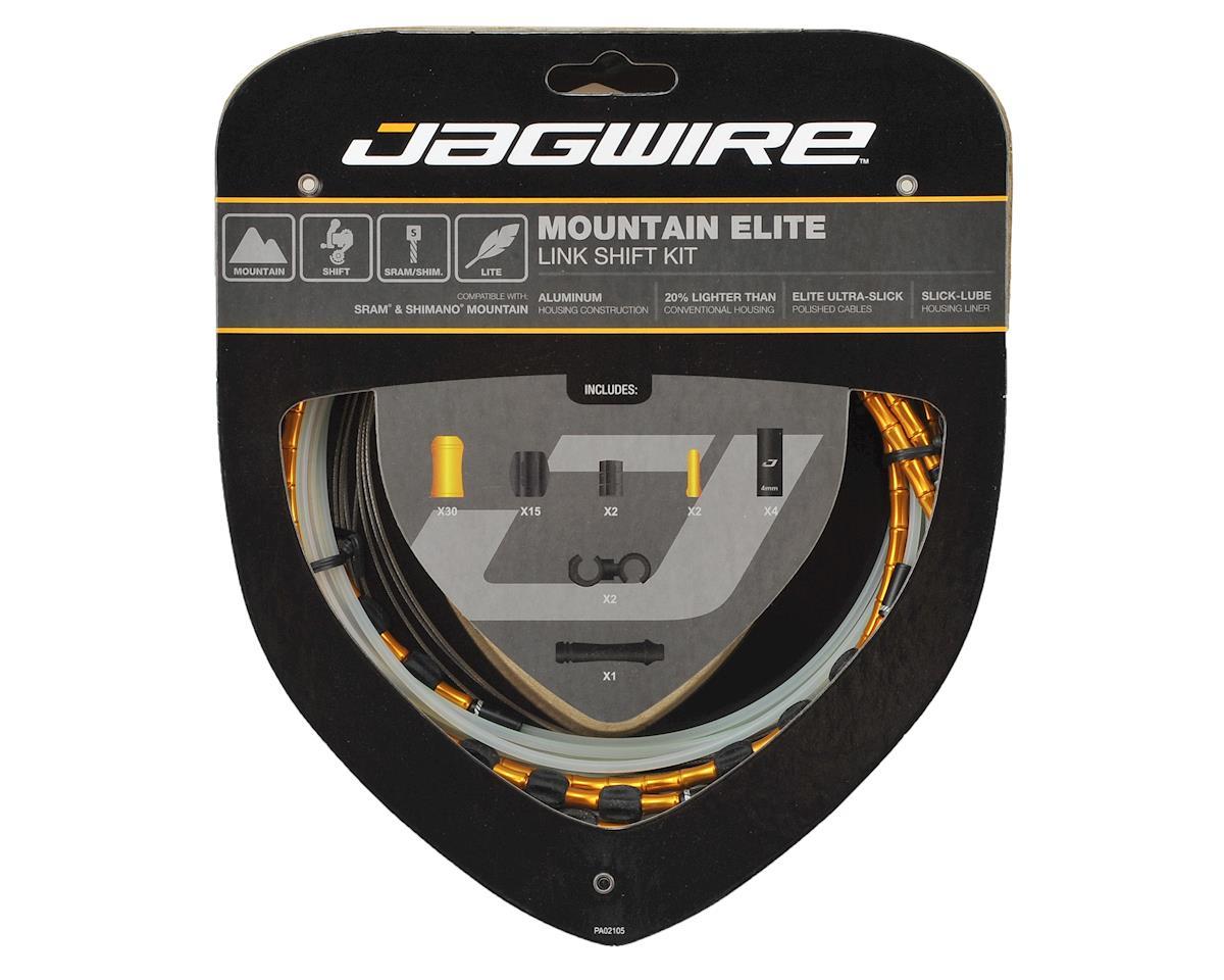 Jagwire Mountain Elite Link Shift Kit (Gold)