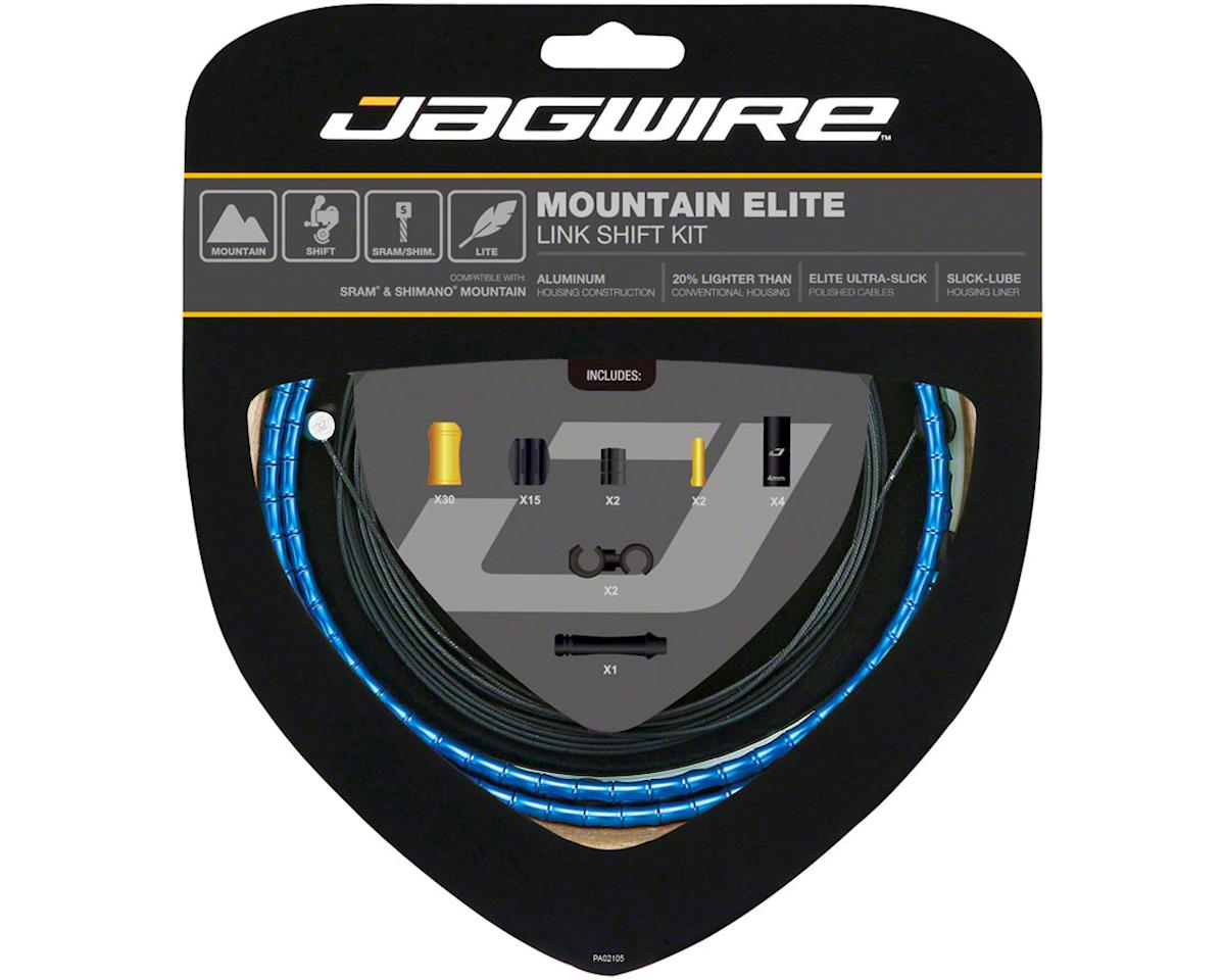 Jagwire Mountain Elite Link Shift Cable Kit SRAM/Shimano with Ultra-Slick Uncoat