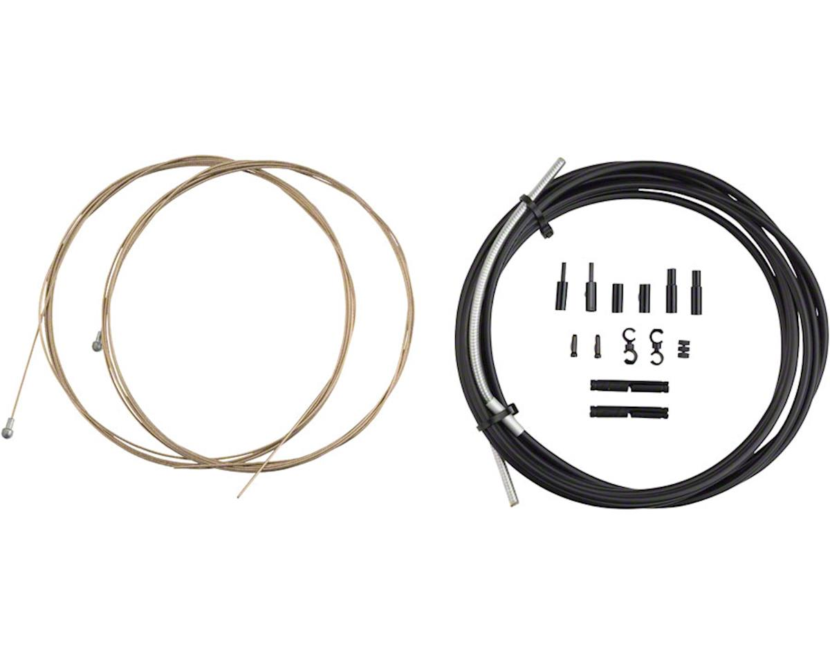 Jagwire Pro Brake Cable Kit Road SRAM/Shimano, Ice Gray