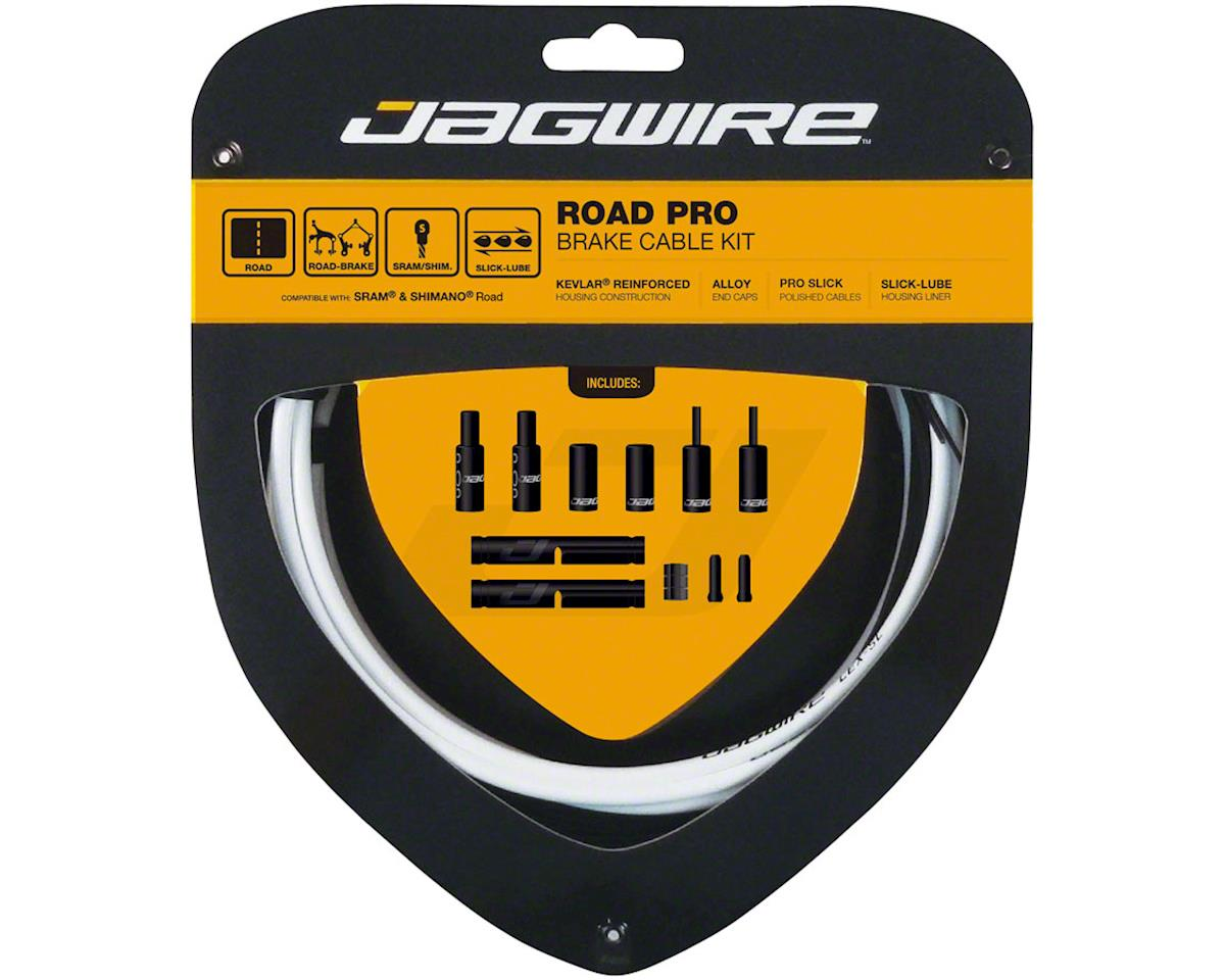 Jagwire Pro Brake Cable Kit Road SRAM/Shimano, White