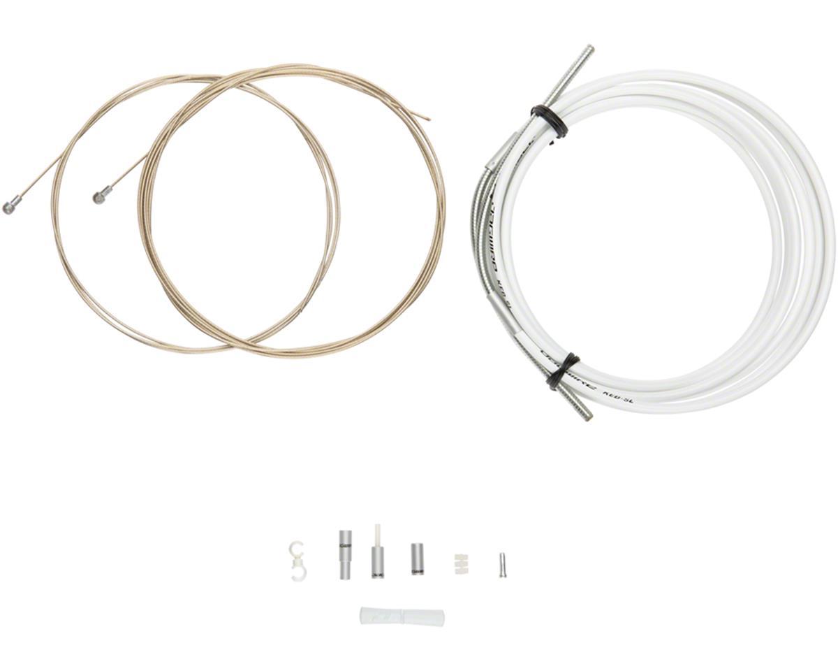 Jagwire Pro Brake Cable Kit Road SRAM/Shimano, White