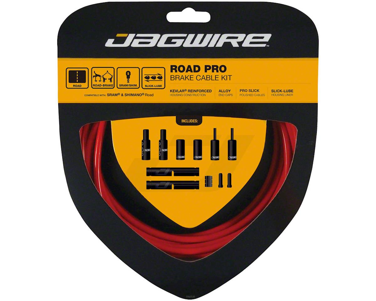 Jagwire Pro Brake Cable Kit Road SRAM/Shimano, Red