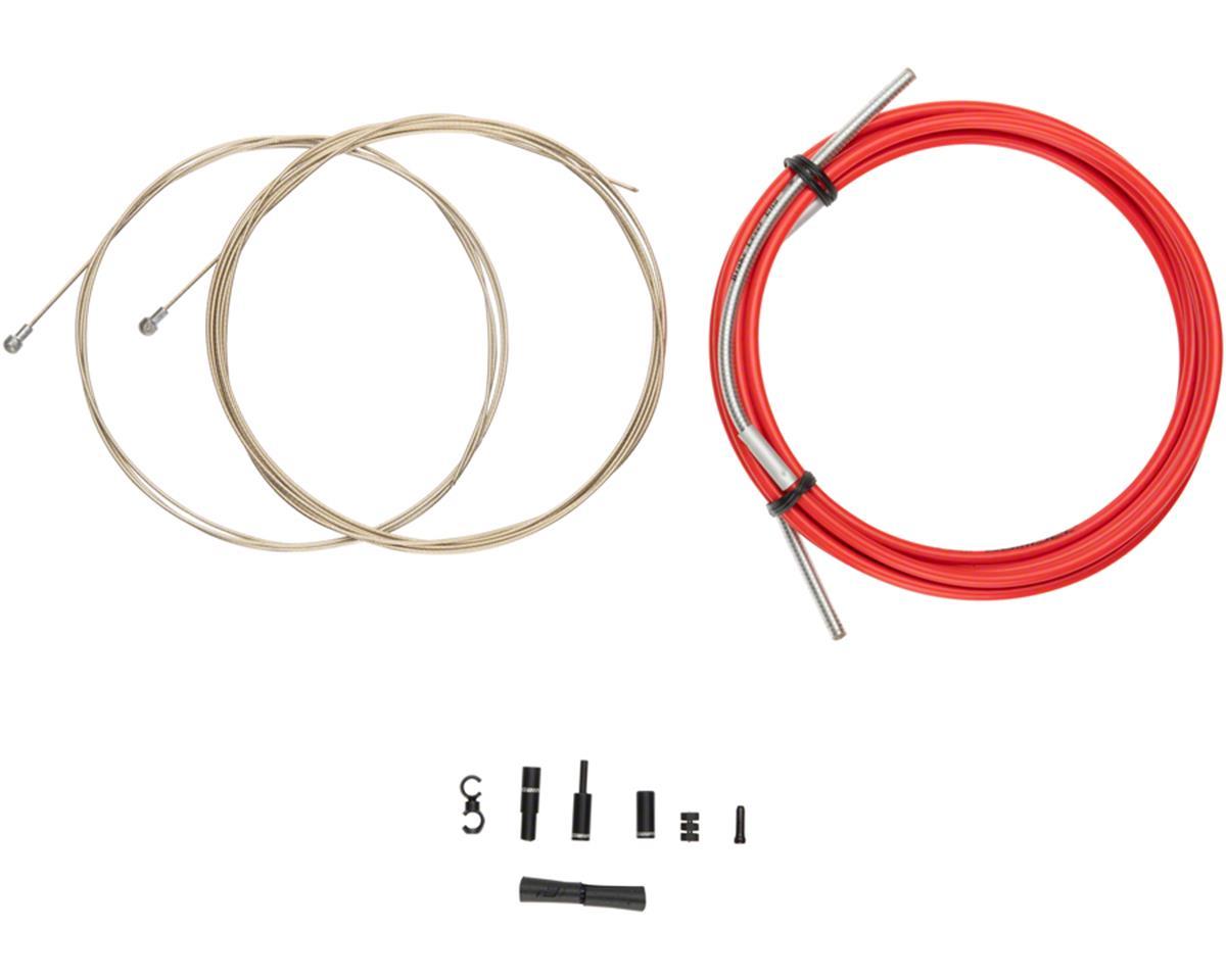 Jagwire Pro Brake Cable Kit Road SRAM/Shimano, Red