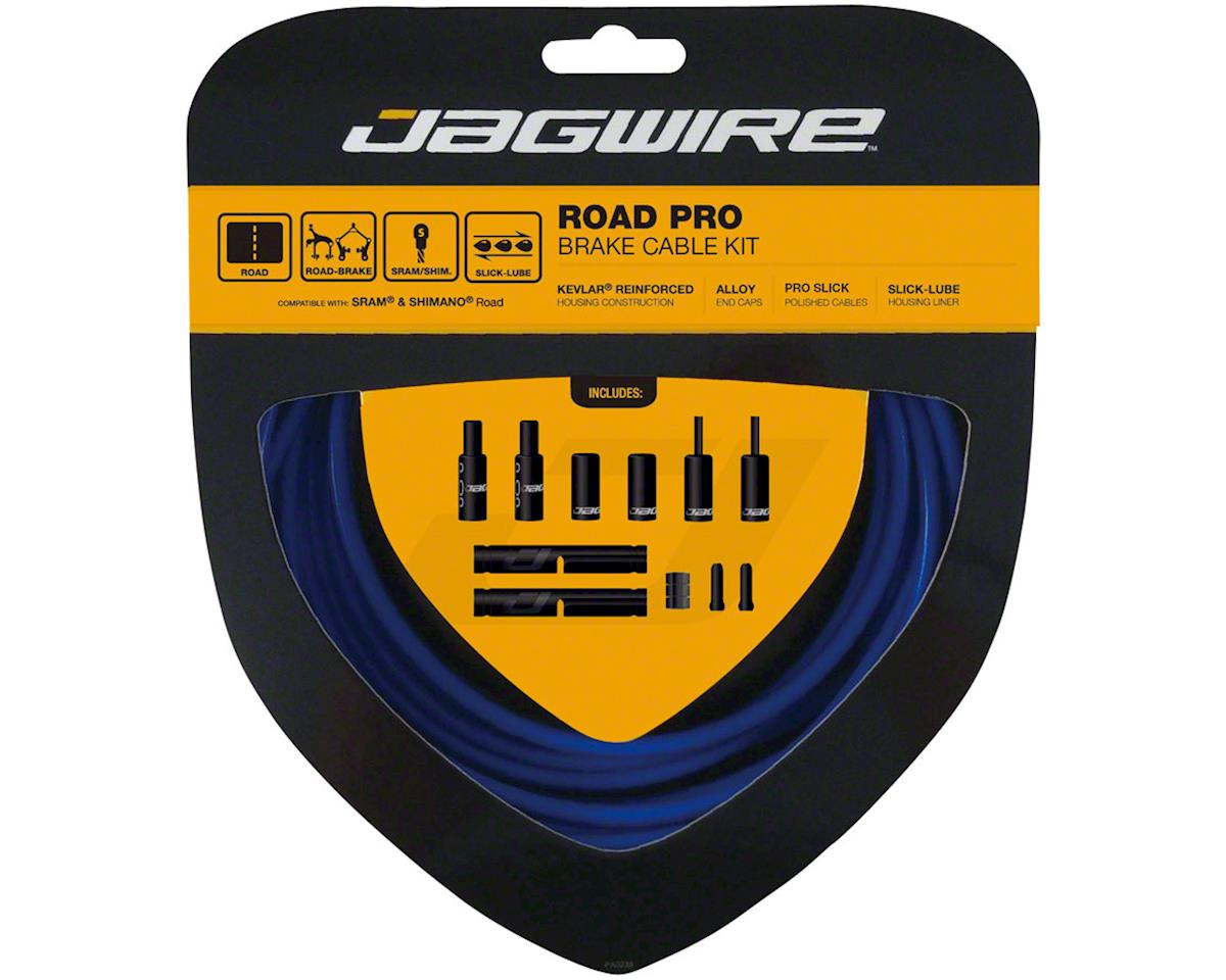Jagwire Pro Brake Cable Kit Road SRAM/Shimano, SID Blue