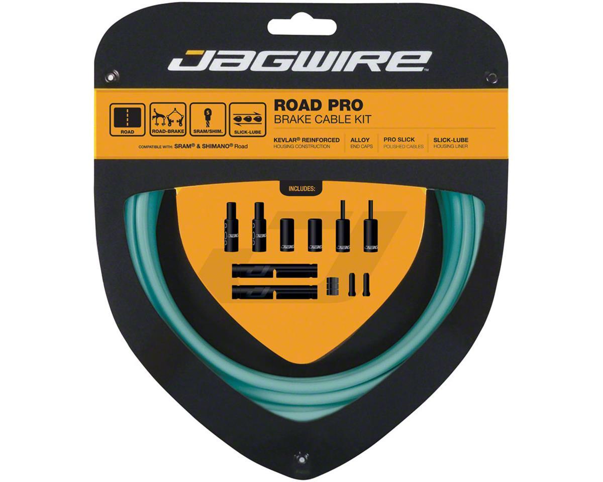 Jagwire Pro Brake Cable Kit Road SRAM/Shimano, Bianchi Celeste