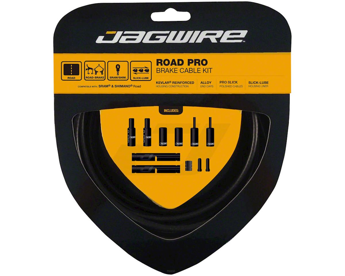 Jagwire Pro Brake Cable Kit Road SRAM/Shimano, Stealth Black