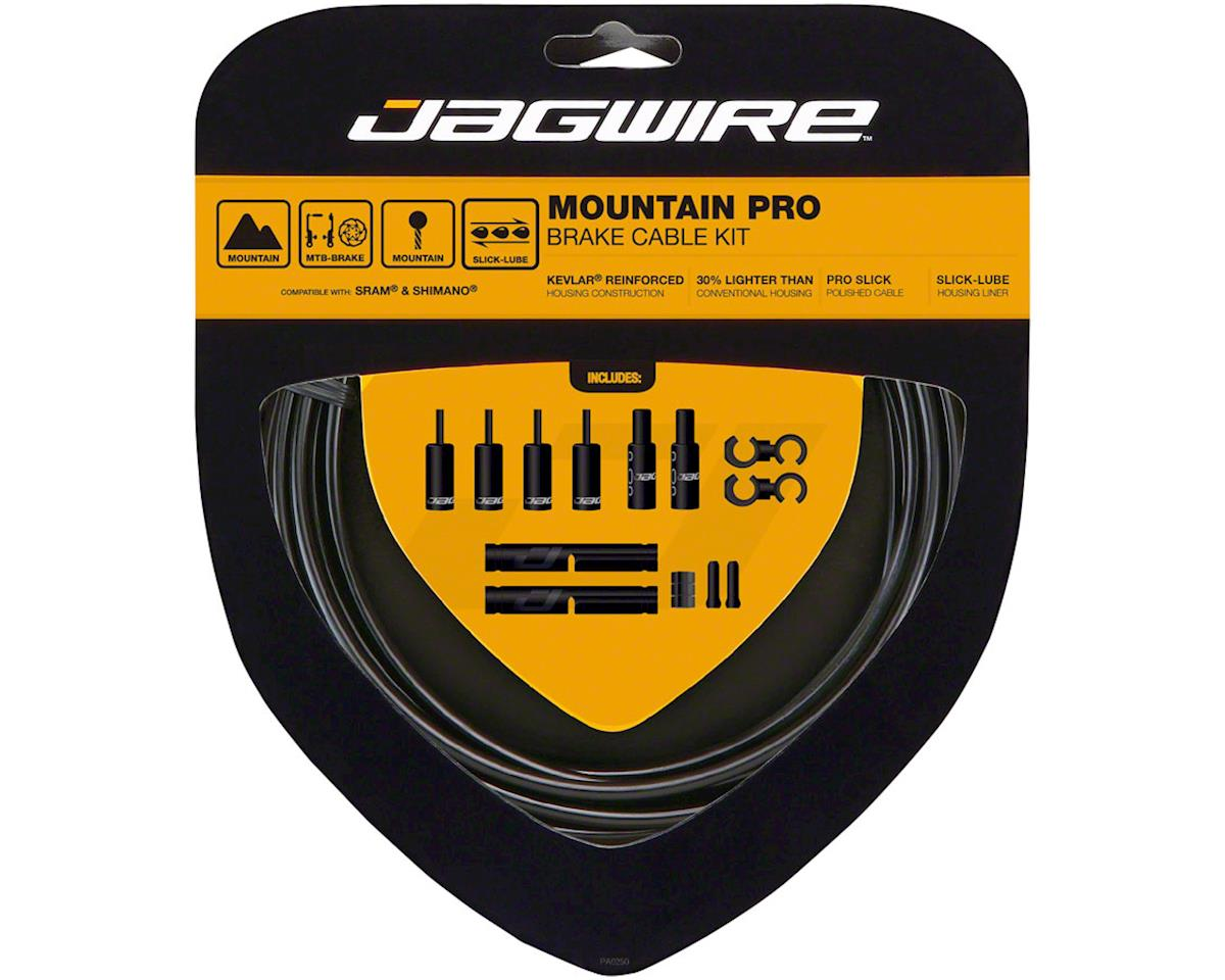 Jagwire Pro Brake Cable Kit Mountain SRAM/Shimano, Black