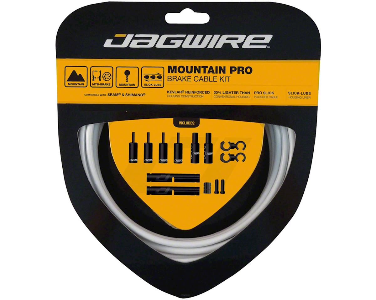 Jagwire Pro Brake Cable Kit Mountain SRAM/Shimano, White
