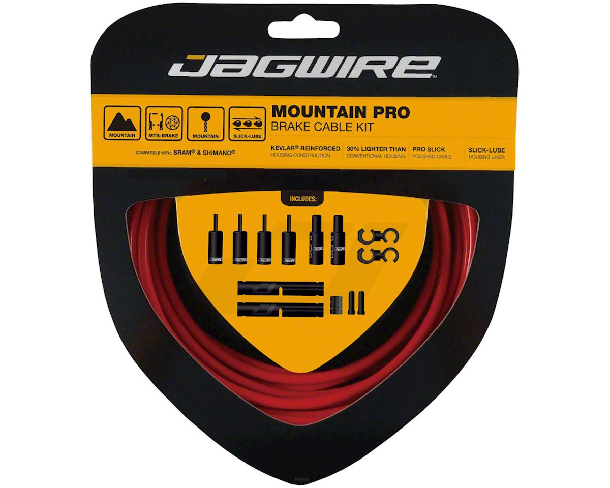 Jagwire Pro Brake Cable Kit Mountain SRAM/Shimano, Red