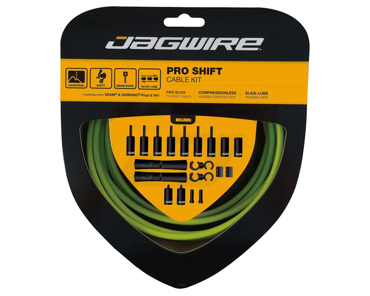 Pro Shift Kit Road/Mountain SRAM/Shimano, Organic Green