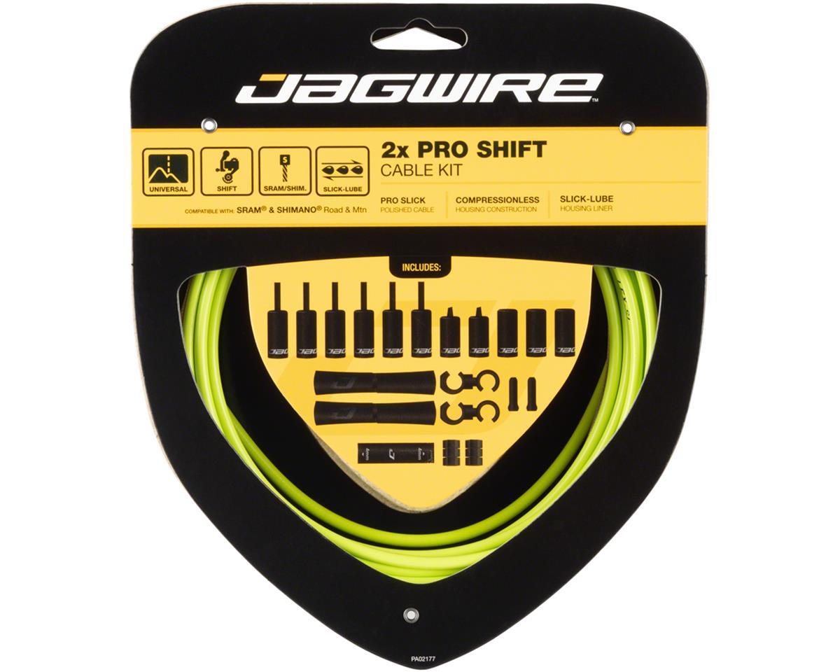Jagwire Pro Shift Kit Road/Mountain SRAM/Shimano, Organic Green