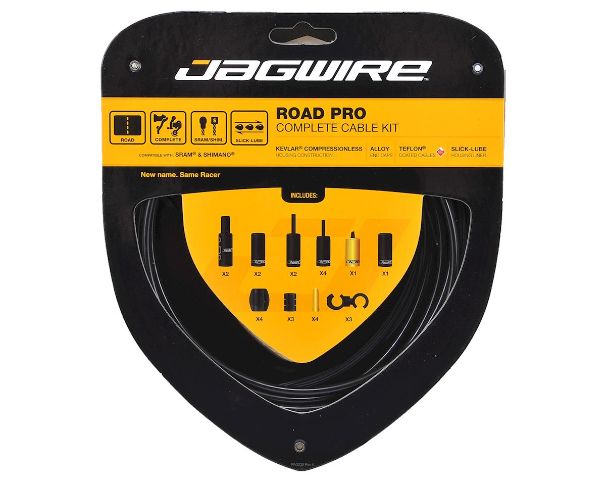 Jagwire Road Pro Complete Brake & Derailleur Kit (Black)