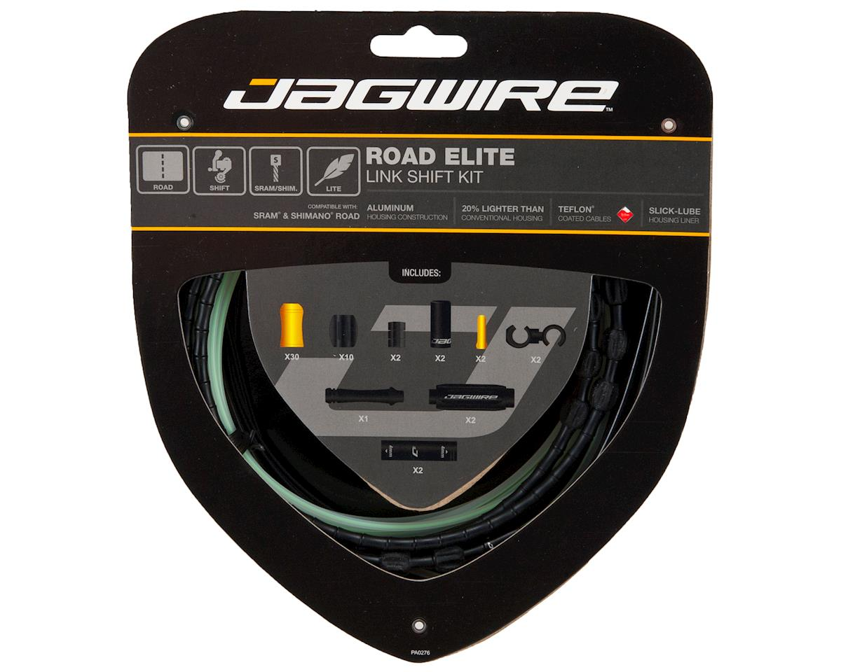 Jagwire Road Elite Link Shift Cable Kit (Black)