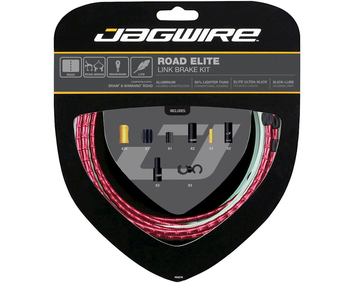 Jagwire Road Elite Link Brake Cable Kit SRAM/Shimano with Ultra-Slick Uncoated C | relatedproducts