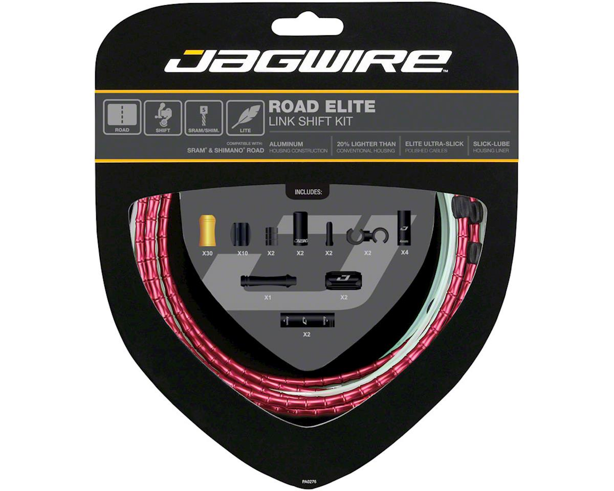 Jagwire Road Elite Link Shift Cable Kit SRAM/Shimano with Ultra-Slick Uncoated C