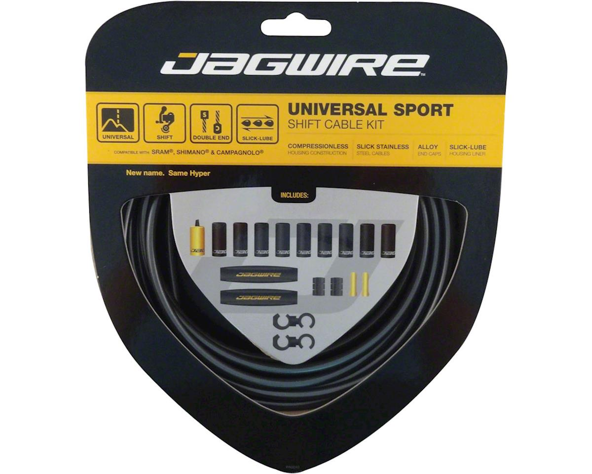 Jagwire Universal Sport Shift Cable Kit, Ice Gray