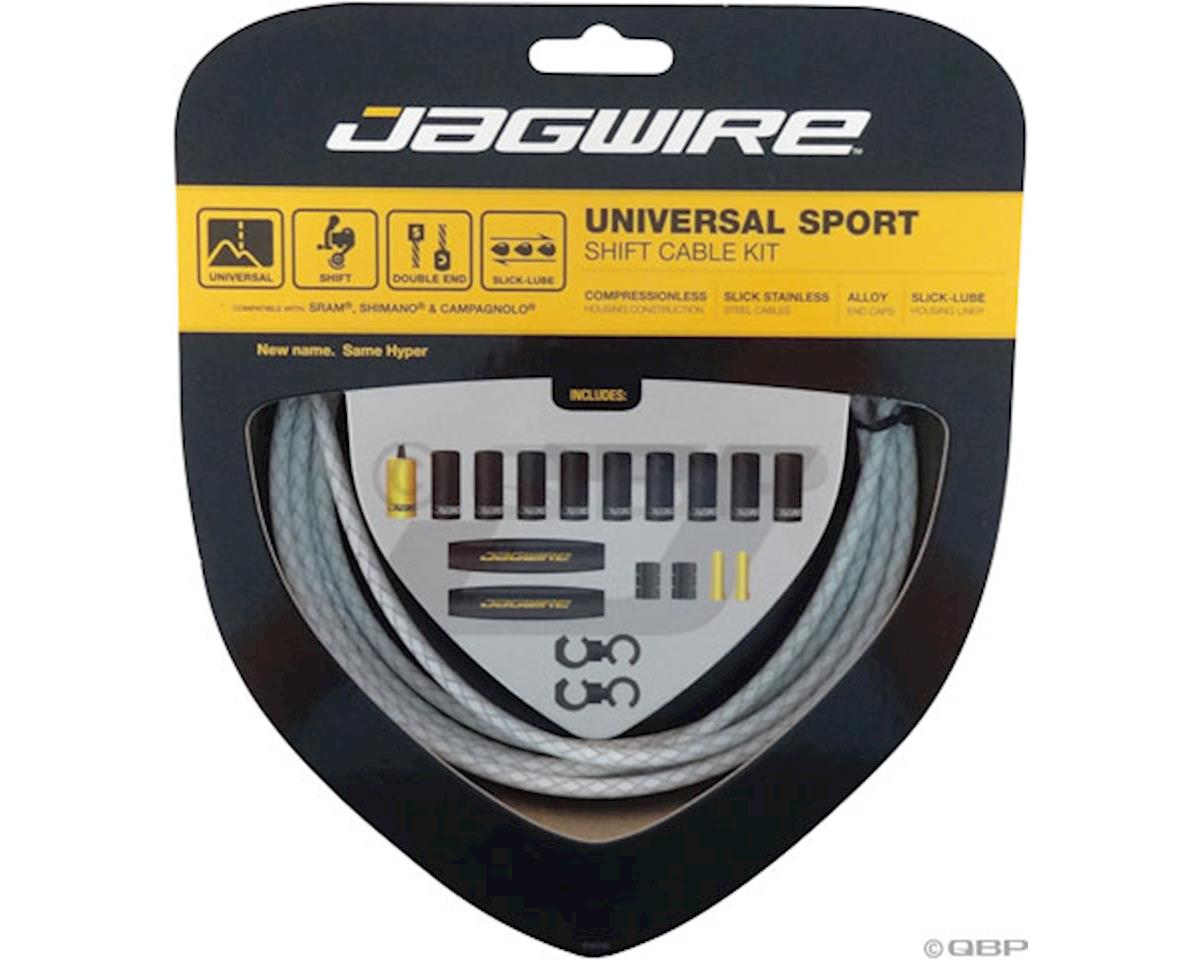 Jagwire Universal Sport Shift Cable Kit, Braided White