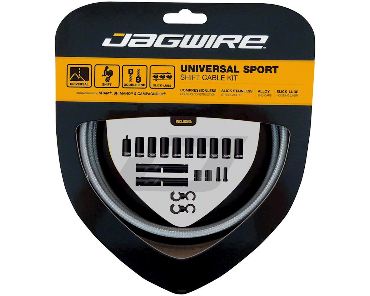 Jagwire Universal Sport Shift Cable Kit fits SRAM/Shimano and Campagnolo, Sterli