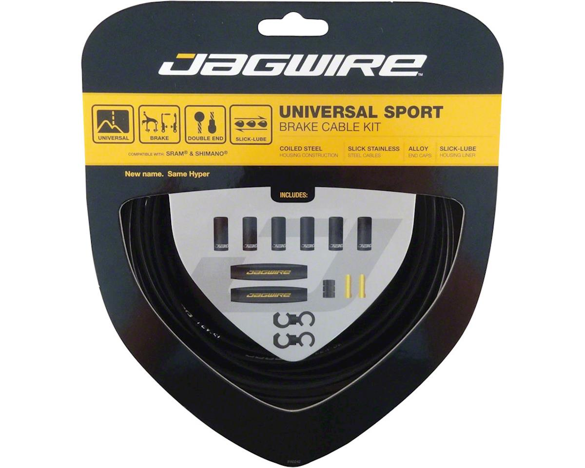 Black Jagwire Universal Sport Brake Cable Kit