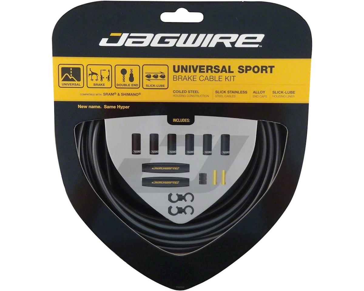 Jagwire Universal Sport Brake Cable Kit, Ice Gray