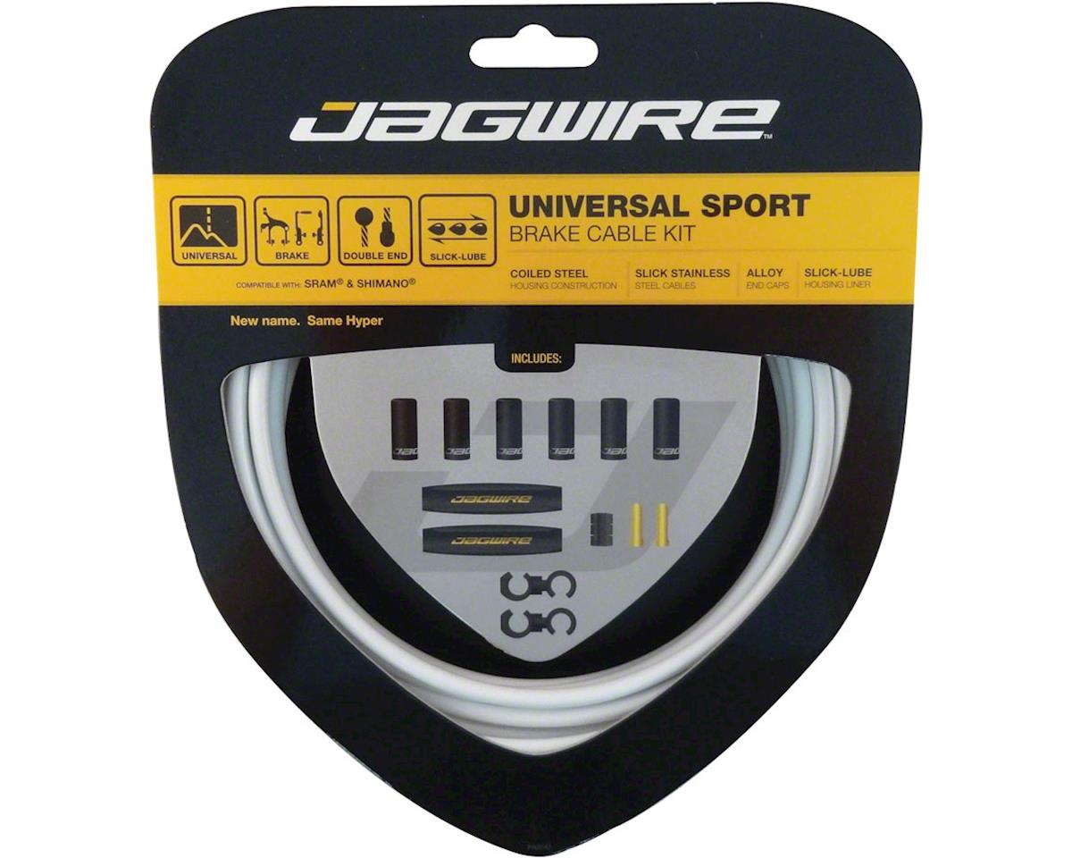 Jagwire Universal Sport Brake Cable Kit, White