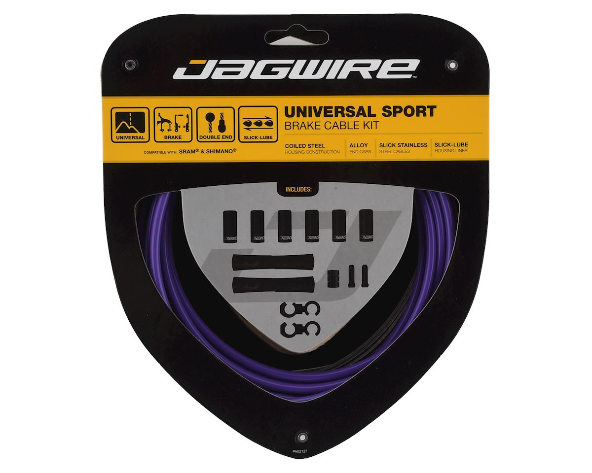 Jagwire Universal Sport Brake Cable Kit, Purple