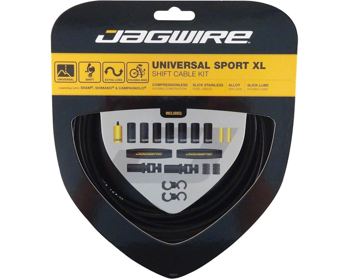 Jagwire Universal Sport Shift XL Cable Kit,  Black
