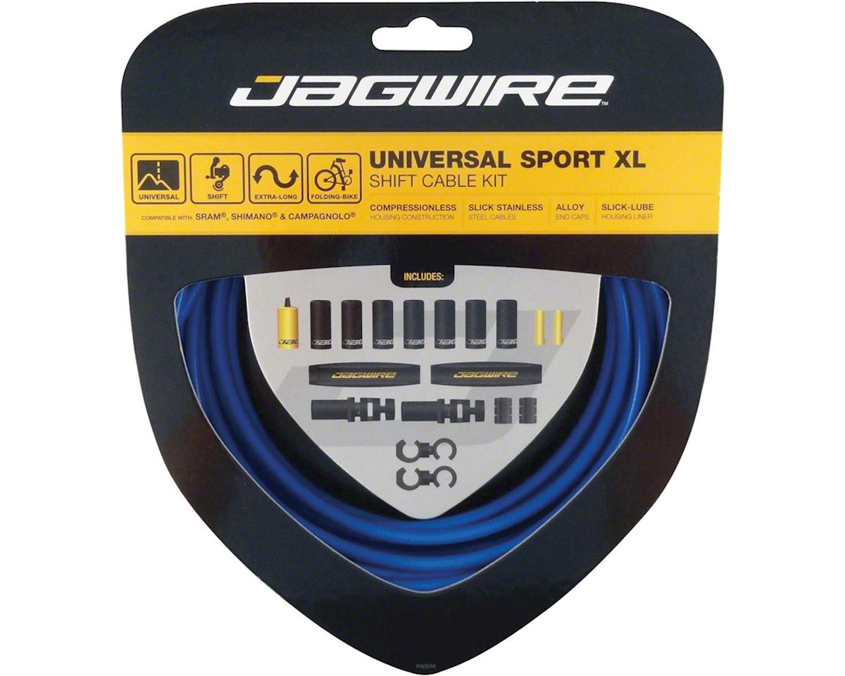 Jagwire Universal Sport Shift XL Cable Kit, Blue
