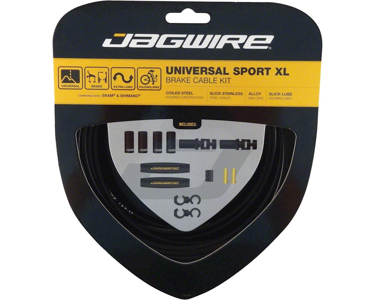 Jagwire Universal Sport Brake XL Kit, Black