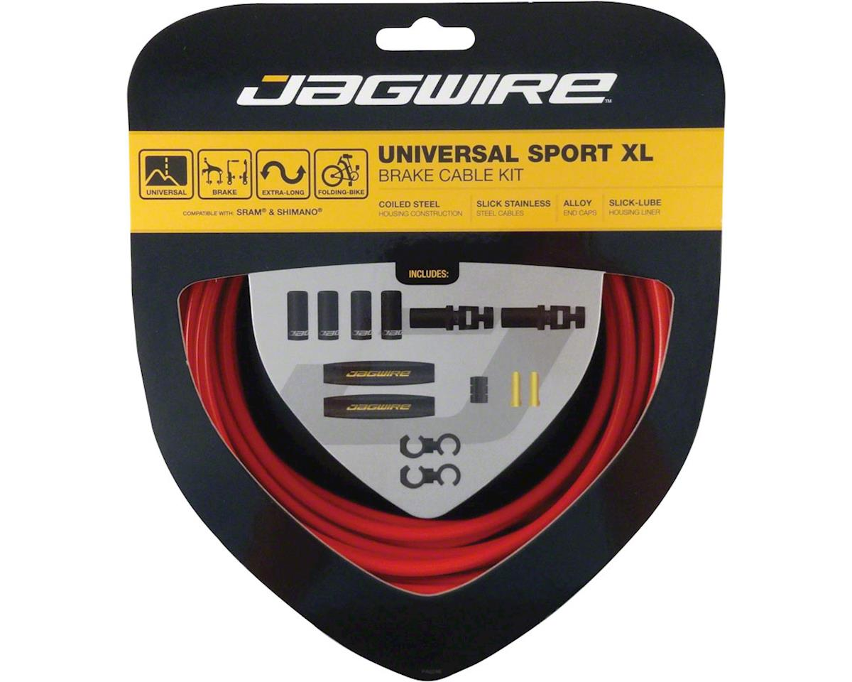 Jagwire Universal Sport Brake XL Kit, Red